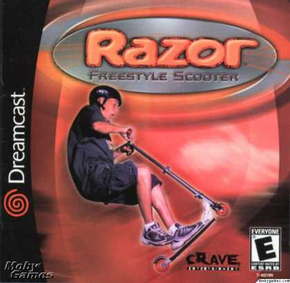 Dreamcast Games - Razor Freestyle Scooter