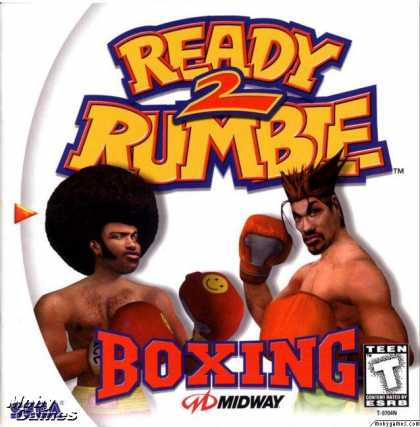 Dreamcast Games - Ready 2 Rumble Boxing