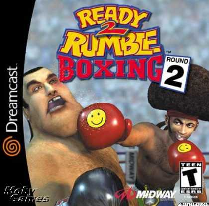 Dreamcast Games - Ready 2 Rumble Boxing: Round 2