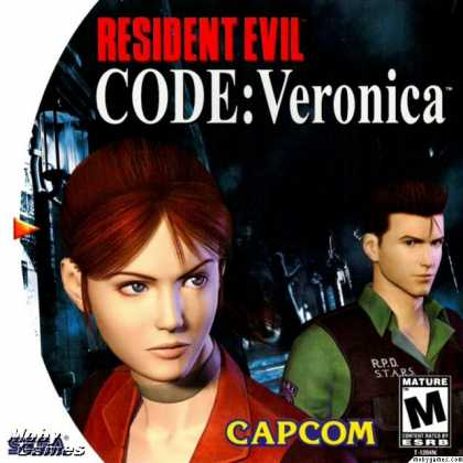 Dreamcast Games - Resident Evil: Code: Veronica