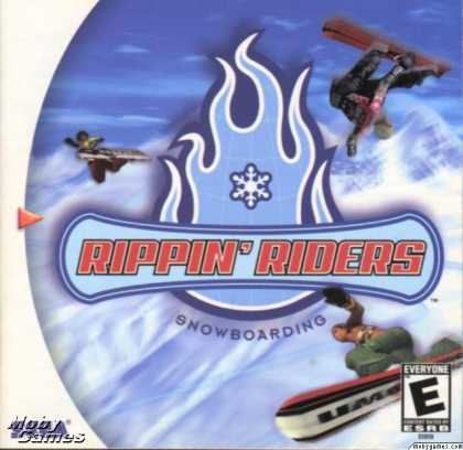 Dreamcast Games - Rippin' Riders