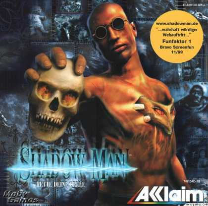 Dreamcast Games - Shadow Man