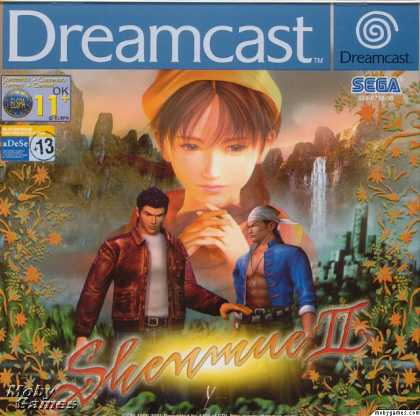 Dreamcast Games - Shenmue II