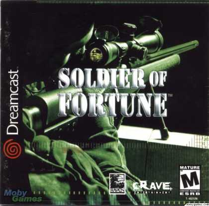 Dreamcast Games - Soldier of Fortune