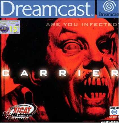 Dreamcast Games - Carrier