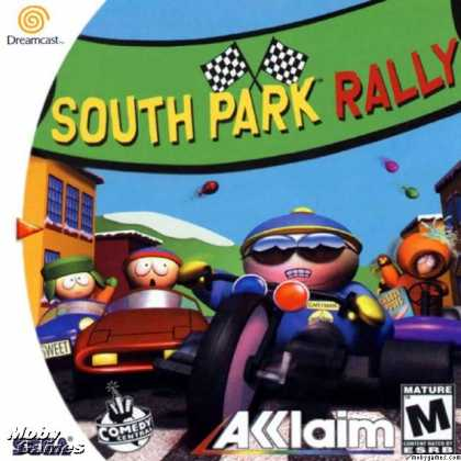 Dreamcast Games - South Park Rally