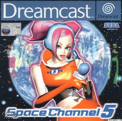 Dreamcast Games - Space Channel 5