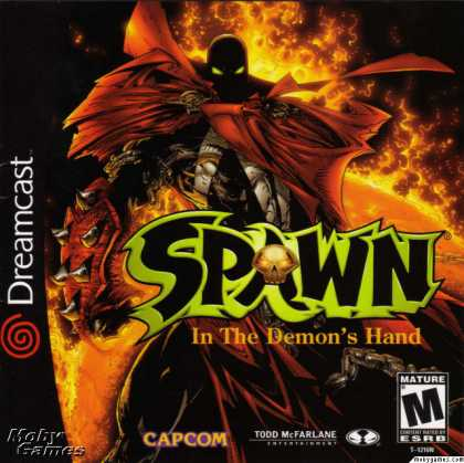 Dreamcast Games - Spawn: In the Demon's Hand