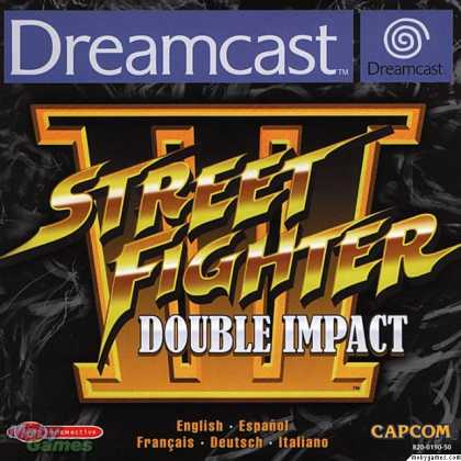 Dreamcast Games - Street Fighter 3: Double Impact