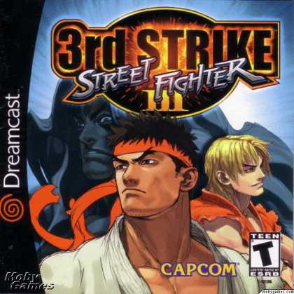Dreamcast Games - Street Fighter III: 3rd Strike - Fight for the Future