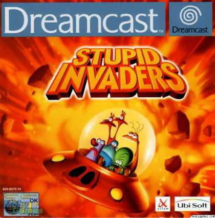 Dreamcast Games - Stupid Invaders