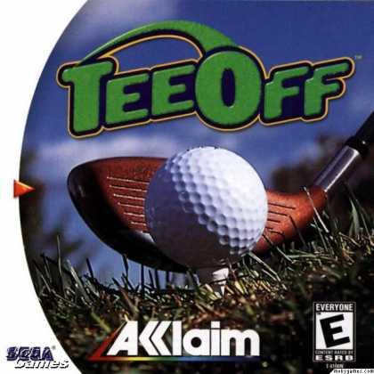Dreamcast Games - Tee Off