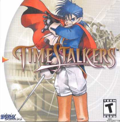 Dreamcast Games - Time Stalkers