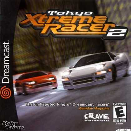 Dreamcast Games - Tokyo Xtreme Racer 2