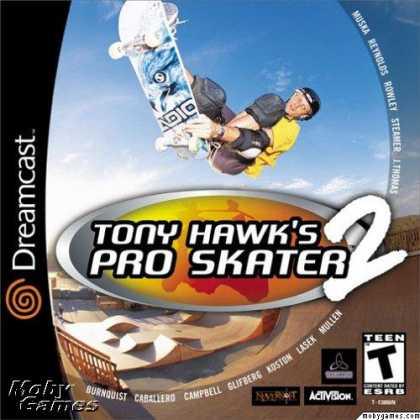 Dreamcast Games - Tony Hawk's Pro Skater 2
