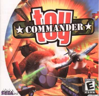 Dreamcast Games - Toy Commander