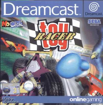 Dreamcast Games - Toy Racer