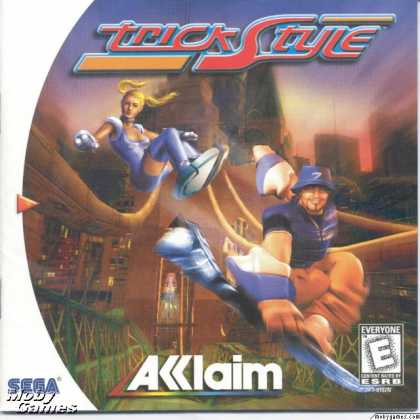 Dreamcast Games - Trickstyle