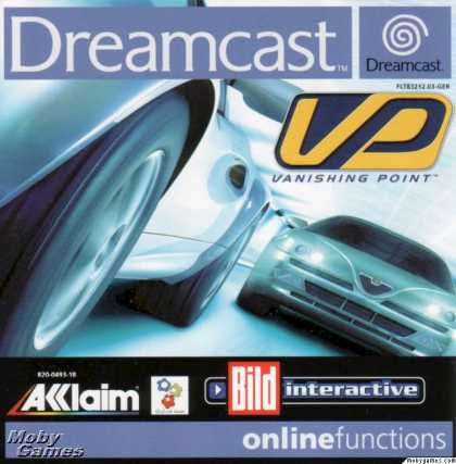 Dreamcast Games - Vanishing Point