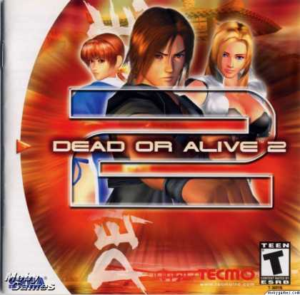 Dreamcast Games - Dead or Alive 2