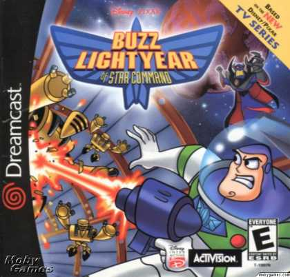 Dreamcast Games - Disney/Pixar's Buzz Lightyear of Star Command