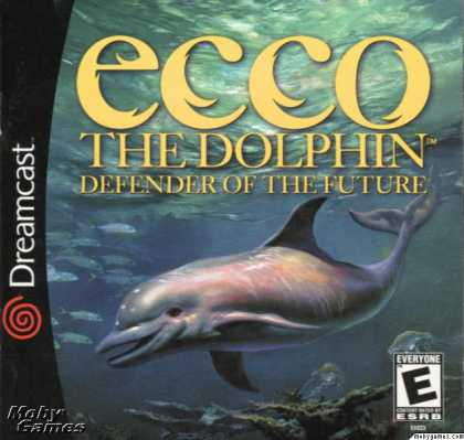 Dreamcast Games - Ecco the Dolphin: Defender of the Future