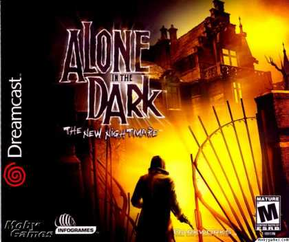 Dreamcast Games - Alone in the Dark: The New Nightmare
