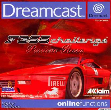 Dreamcast Games - F355 Challenge: Passione Rossa