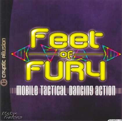 Dreamcast Games - Feet of Fury
