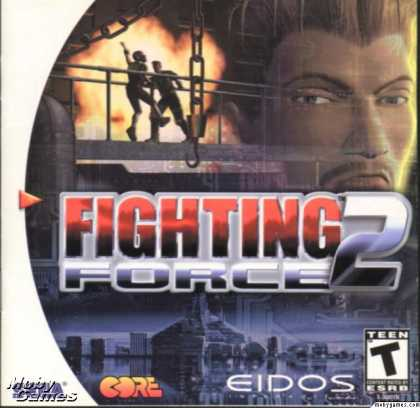 Dreamcast Games - Fighting Force 2