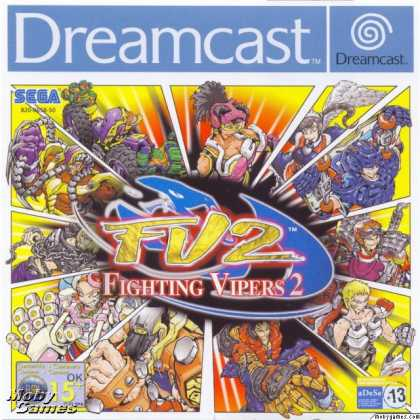 Dreamcast Games - Fighting Vipers 2