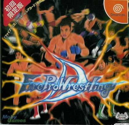 Dreamcast Games - Fire ProWrestling D