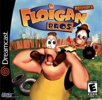 Dreamcast Games - Floigan Brothers: Episode 1