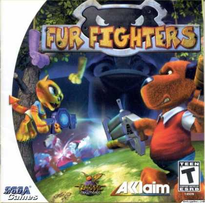 Dreamcast Games - Fur Fighters