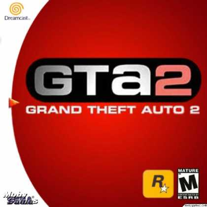 Dreamcast Games - Grand Theft Auto 2