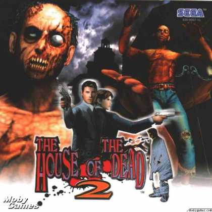 Dreamcast Games - The House of the Dead 2
