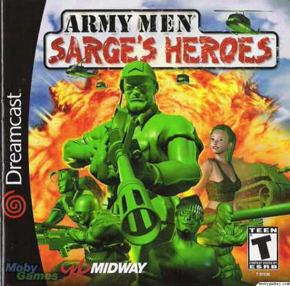 Dreamcast Games - Army Men: Sarge's Heroes
