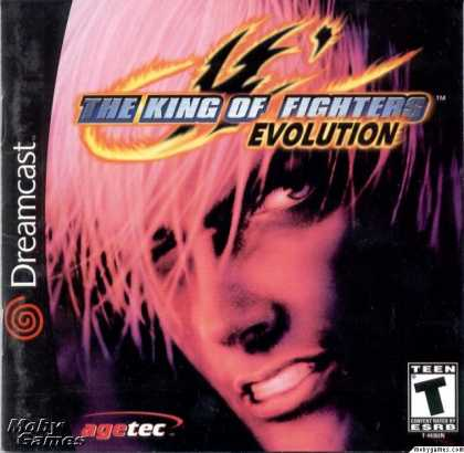 Dreamcast Games - The King of Fighters: Evolution
