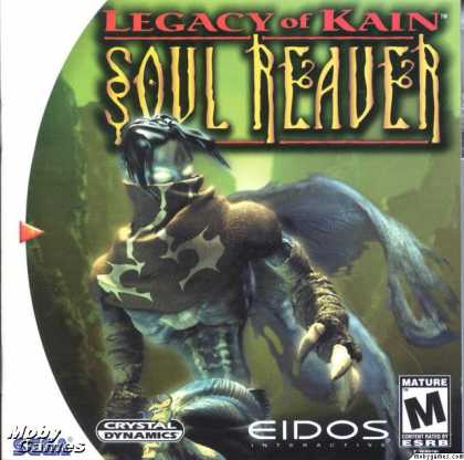 Dreamcast Games - Legacy of Kain: Soul Reaver