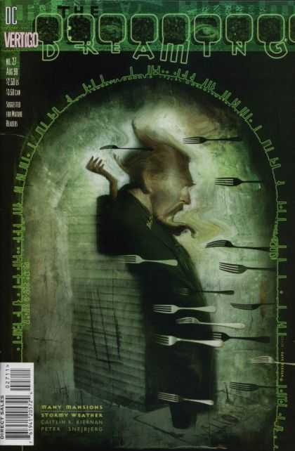 Dreaming 27 - Forks - Blurry Image - Digital Portal - Gotee - Eyes - Dave McKean