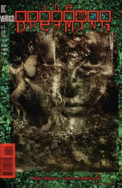 Dreaming 4 - Peter Hogan - Steve Parkhouse - Green Forest - Face In Tree Bark - Wings - Dave McKean