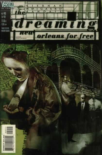 Dreaming 40 - New Orleans For Free - Men - Lady Bowing Head - Archway - Kiernan Rojgaard Randall - Dave McKean