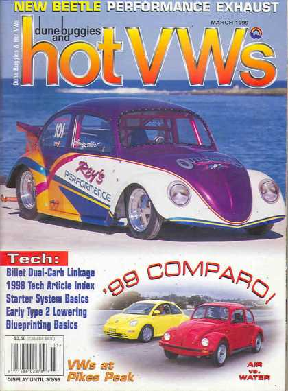 Dune Buggies and Hot VWs - March 1999