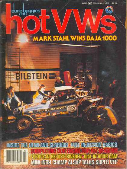 Dune Buggies and Hot VWs - February 1979