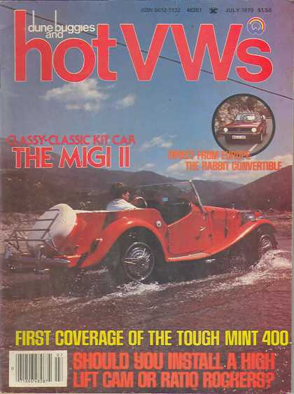 Dune Buggies and Hot VWs - July 1979