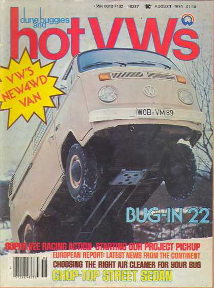 Dune Buggies and Hot VWs - August 1979