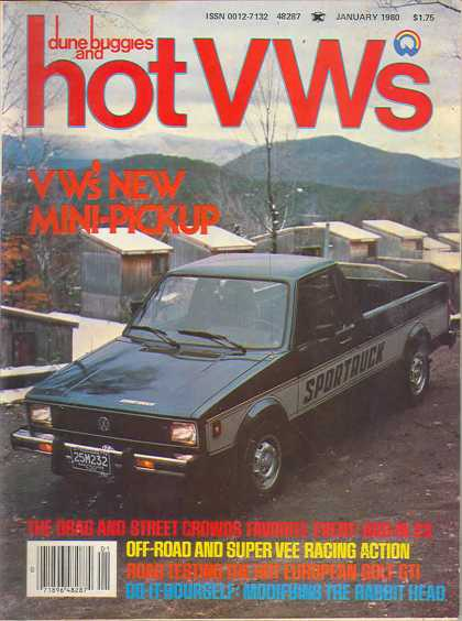 Dune Buggies and Hot VWs - January 1980