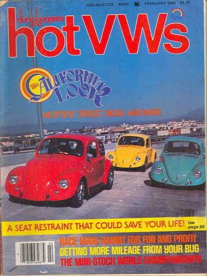 Dune Buggies and Hot VWs - February 1980