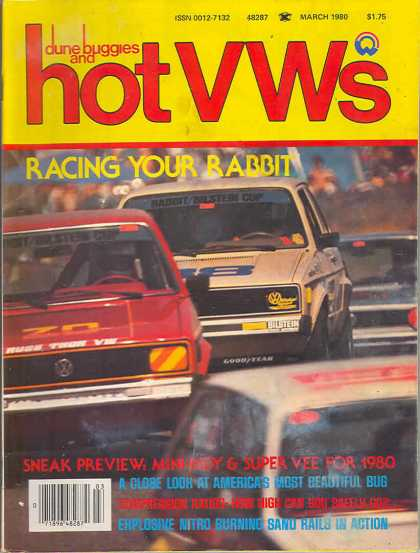 Dune Buggies and Hot VWs - March 1980