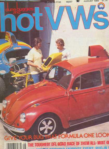 Dune Buggies and Hot VWs - August 1980